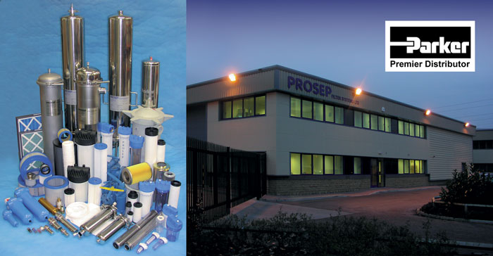 Prosep Filter Systems - distributors for Parker Process